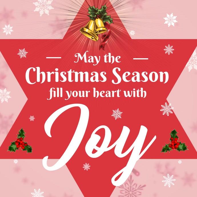 Christmas Greeting Card Video Instagram