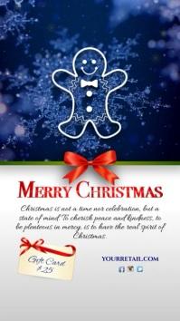 Christmas greeting Instagram
