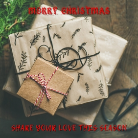 Christmas Greeting Template
