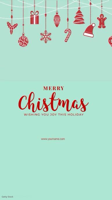 Christmas Greeting Template