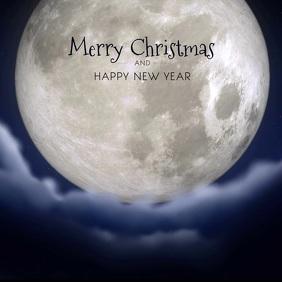 Christmas Greeting Video Advert Square Santa