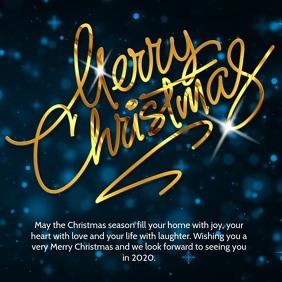 Christmas Greetings Instagram