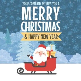 customizable design templates for merry christmas greeting
