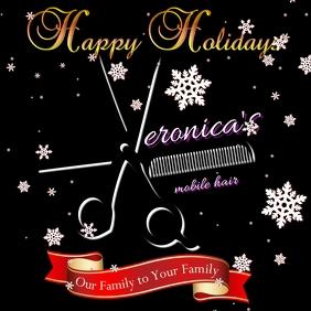 Christmas Hairdressing logo