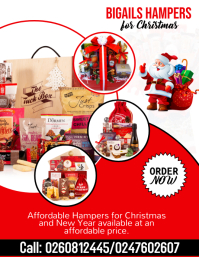 Christmas Hampers Flyer (US Letter) template