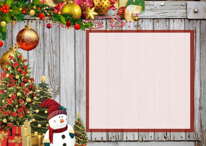 CHRISTMAS HOLIDAY CARD POSTCARD
