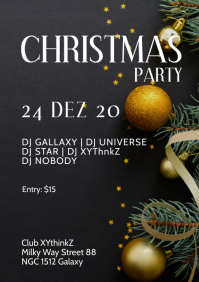 Christmas Holiday Party Event Club Bar Music