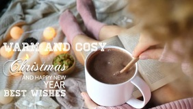 Christmas hot chocolate best wishes