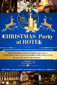 Christmas hotel blue2