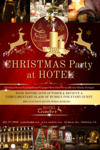 Christmas hotel party1