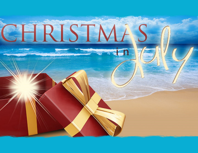 christmas in july Flyer (US Letter) template