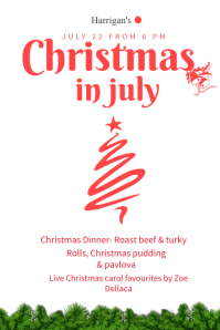 Customizable Design Templates for Christmas In July PosterMyWall
