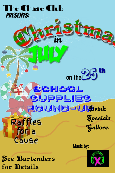 Christmas In July Template PosterMyWall