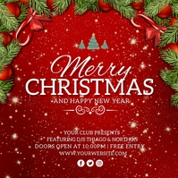 Christmas Instagram Post Template Instagram-opslag