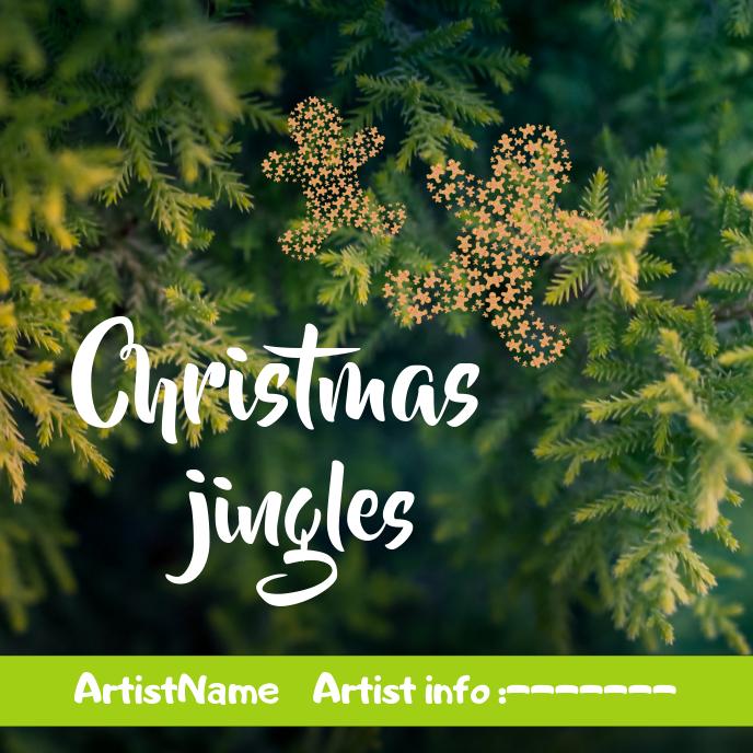 Christmas Jingles Album Art template