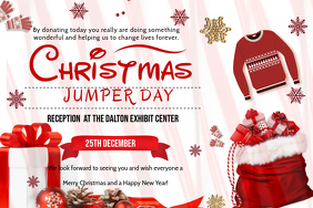 Christmas Jumper Day Charity Poster