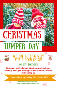 Christmas Jumper Day Poster