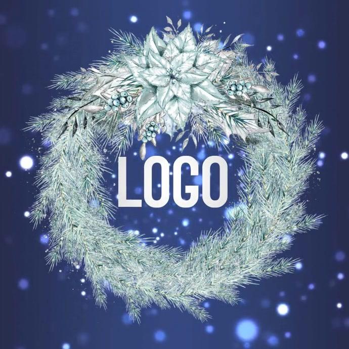 CHRISTMAS logo design template 徽标