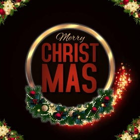 christmas LOGO TEMPLATE Vierkant (1:1)