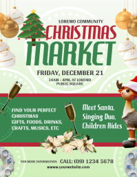 Christmas Market Flyer Template