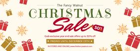 Christmas Market Sale Banner
