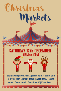 Christmas Markets Flyer