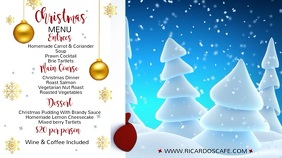 Christmas Menu Video Template