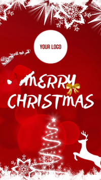 CHRISTMAS MERRY История на Instagram template