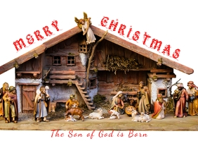 Christmas Nativity Card