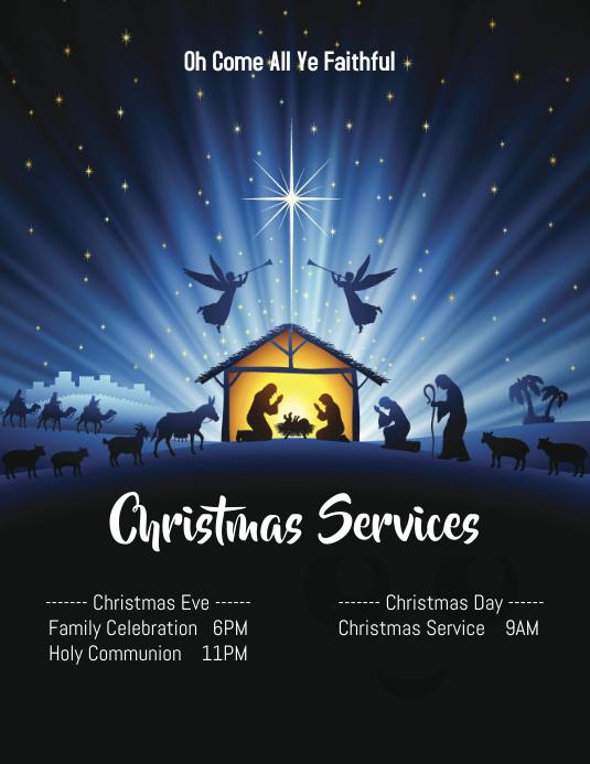 Christmas Nativity Church Service