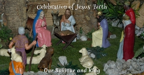 Christmas Nativity Facebook Cover