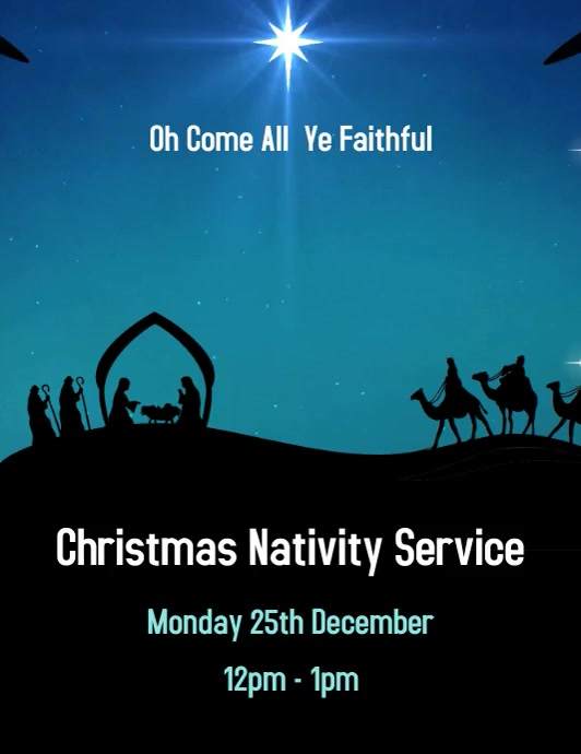 Christmas Nativity Service