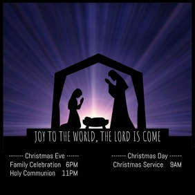 Christmas Nativity Service Video