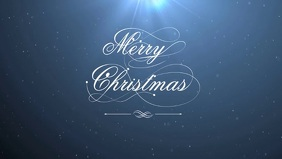 Christmas night Facebook Cover Video (16:9) template