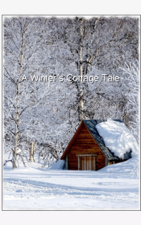 Christmas Novel Book Cover template