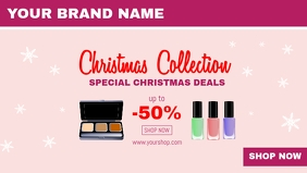 Christmas Offer Beauty Deals Sale Cover Ad