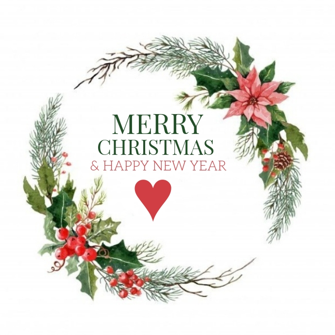 CHRISTMAS ONLINE GREETING CARD WISHES TEMPLAT Logo template