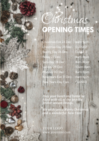 Christmas Opening Times Retail Shop Holidays