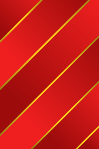 Christmas Paper Red and Gold