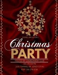 christmas party audio template, christmas
