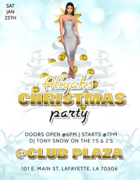CHRISTMAS PARTY CLUB FLYER
