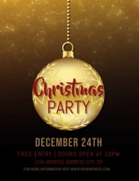 Christmas Party Event Video Template