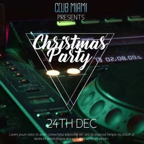 Christmas Party Event Video Templatec
