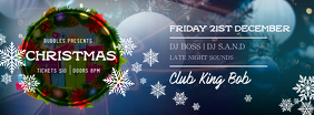 Christmas Party Facebook Cover Photo template