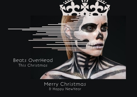Christmas party flyer poster