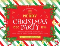 Christmas Party Invitation Volantino (US Letter) template