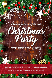 Christmas Party invite