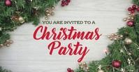 Christmas party invite Imagem partilhada do Facebook template