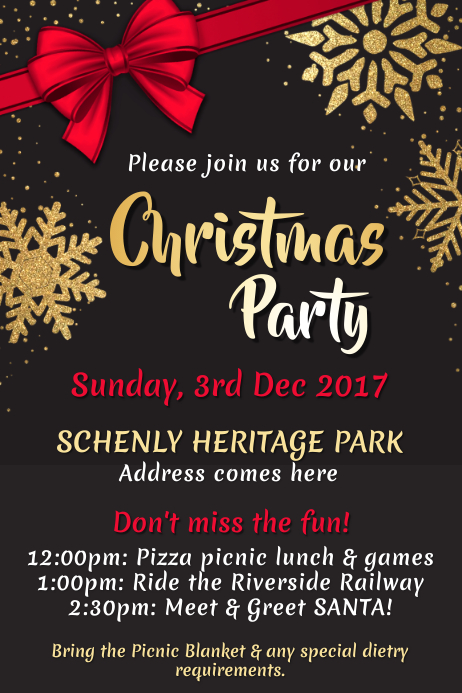 image relating to Free Printable Christmas Party Flyer Templates identify Personalize 5,970+ Xmas Templates PosterMyWall