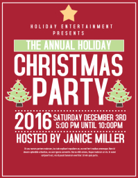 Customizable Design Templates for Christmas Party Flyer   PosterMyWall